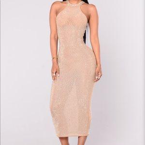 Dresses & Skirts - Fashion Nova Sheer Sequin dress